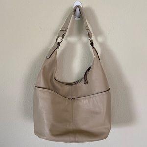 Tignanello Cream Bucket Bag